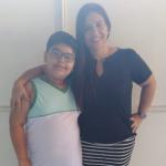 Mauriceia Constantino  – mãe do aluno Isaac Constantino – Colégio Guerra – São João de Meriti, RJ