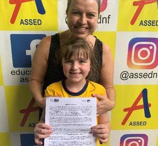 Renata Coelho – mãe de Julia Coelho Sanches – Escola Assed – Nova Friburgo, RJ