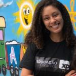 Tamires Ramos – funcionária temporária do projeto Educação Garantida